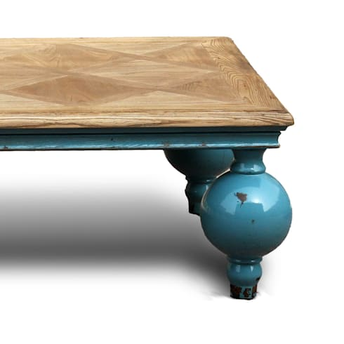 The <q>Big Ball</q> coffee table: eclectic Living room by ACF China