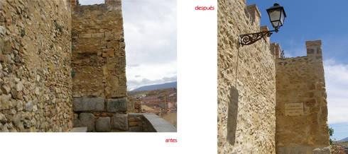 Pavimentación de las entrepilas y canaletas del Acueducto: Museos de estilo  de Ear arquitectura