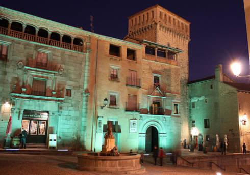 Muralla en La Alhóndiga, Segovia: Museos de estilo  de Ear arquitectura