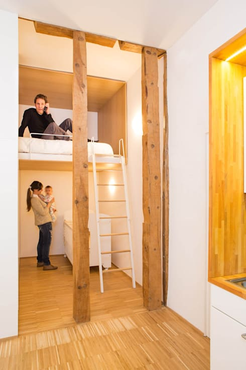 Loft JERTE. Madrid: Casas de estilo  de Beriot, Bernardini arquitectos