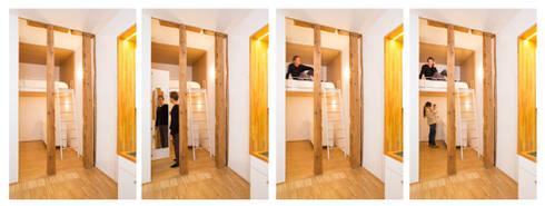 Loft JERTE. Madrid: Casas de estilo minimalista de Beriot, Bernardini arquitectos