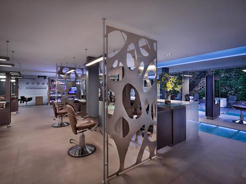 SG LOMAS: Espacios comerciales de estilo  por Micheas Arquitectos