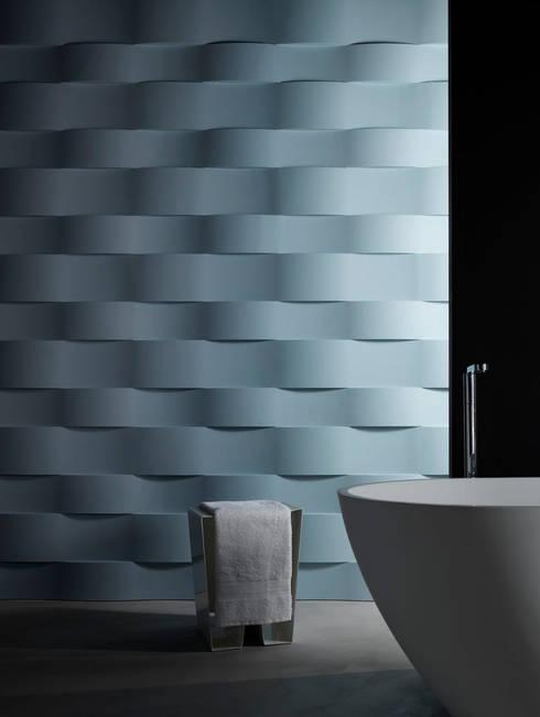 3D Surface: Pareti & Pavimenti in stile  di Jacopo Cecchi Designer