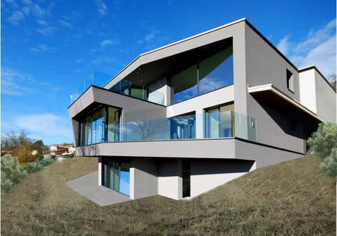 Pas casa a gradoni di studio d 39 architettura casali sagl for Piani di una casa colonica avvolgono il portico