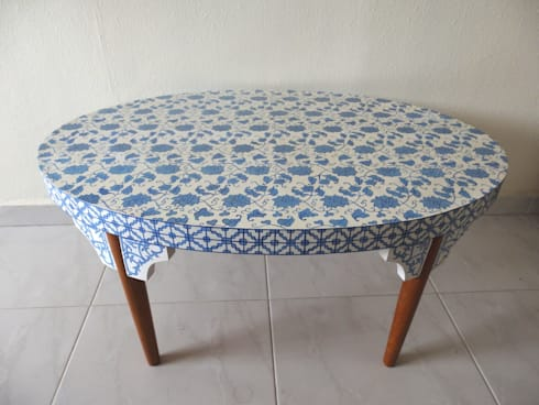 Porcelain coffee table:   by Art From Junk Pte Ltd