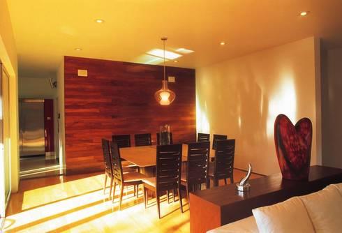 Casa Feryvale, 2006: Comedores de estilo moderno por Taller Luis Esquinca