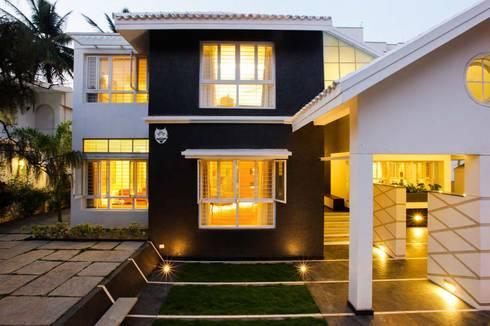 FRAGMENT HOUSE:   by Gaurav Roy Choudhury Architects