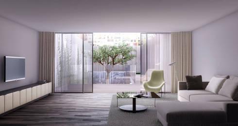 D/219: Salones de estilo moderno de INTERCON