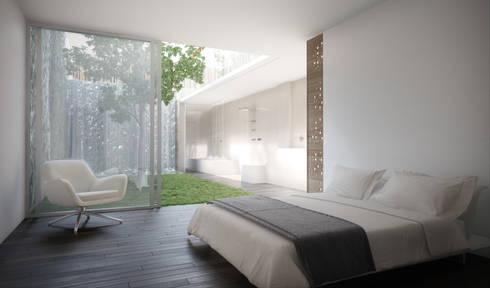 D/219: Dormitorios de estilo moderno de INTERCON