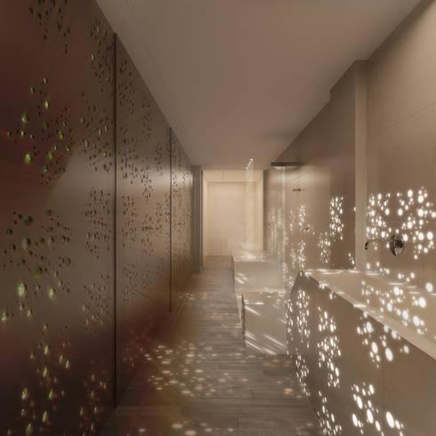 D/219: Baños de estilo moderno de INTERCON