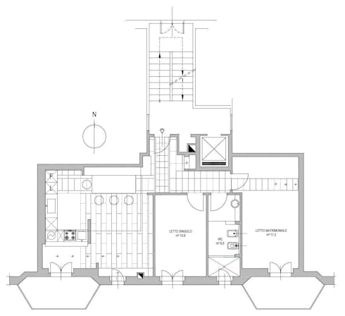 Casa studio in via chavanne by ecoarchitettare homify - Calcolo rapporti aeroilluminanti ...