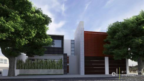 Residencia Hacienda Agua Caliente:  de estilo  por EL arquitectos