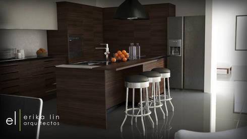 Cocina:  de estilo  por EL arquitectos