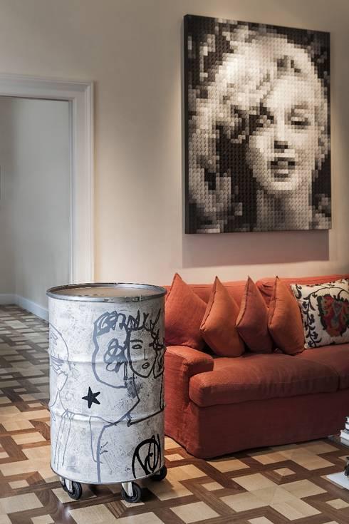 StudioDodici Architettura,  Design,  Interiorが手掛けたバルコニー&ベランダ&テラス