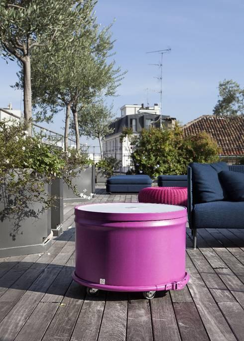 Balcones y terrazas de estilo  por StudioDodici Architettura,  Design,  Interior