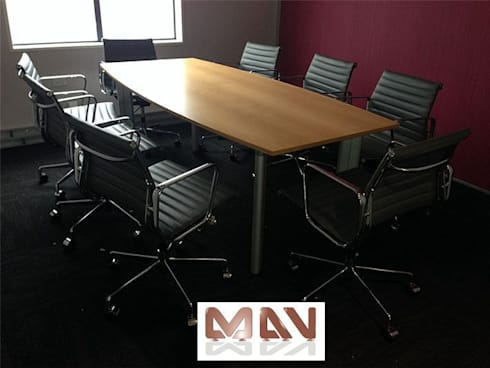 MALLOCH McCLEAN LTD New Zealand :  Office spaces & stores  by MAV Furniture Co.,ltd