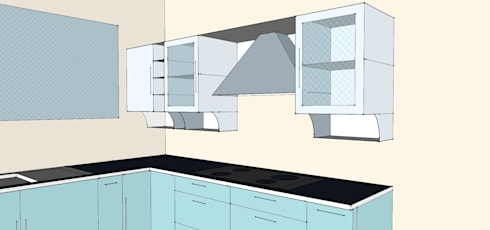 Kitchen 1:   by 3A Architects Inc