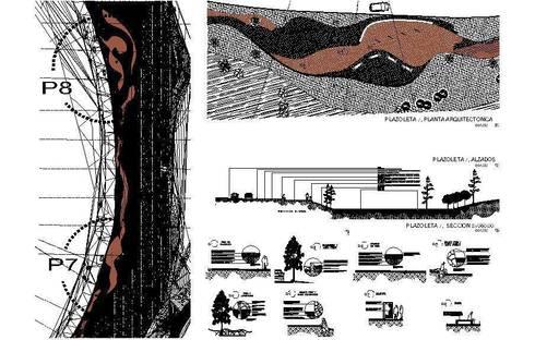 rehabilitación de espacios publicos:  de estilo  por AE ARQUITECTOS