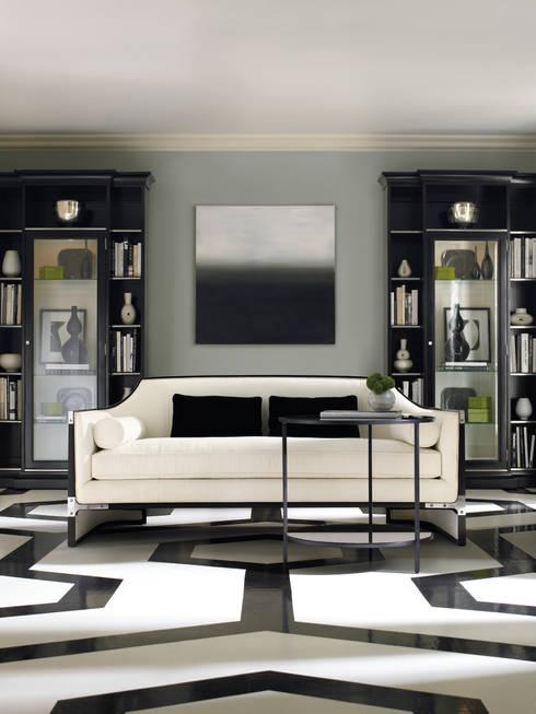 SIMPLY PUT: Salas de estilo  por DOBLEUU DESIGN
