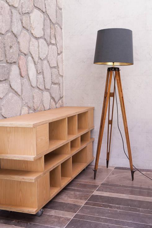 Remodelacion Casa Cuernavaca: Salas de estilo moderno por Taller David Dana Arquitectura