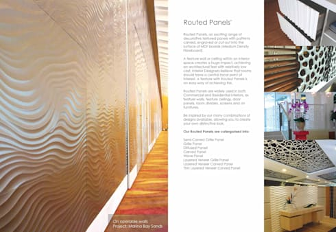 Wall Panelling :  Walls & flooring by series supplies