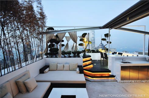 Robinson Heights:   by Newton Concepts Furniture & Interior Design