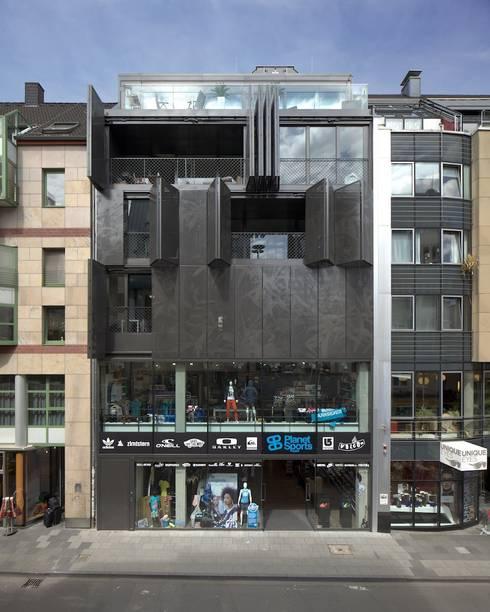 Schilling Architekten e 100 wohn und geschäftshaus ehrenstraße 100 by schilling