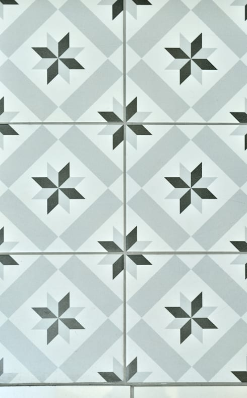 Deco Floor Tiles:  Bathroom by Target Tiles