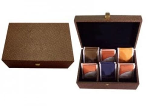 Wooden Tea Box:  Household by Wooden Gift Company
