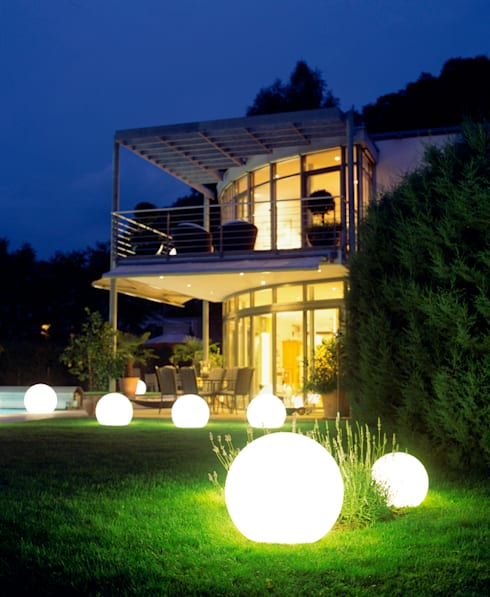 MOONLIGHT VOLLKUGEL MIT EINGRABSOCKEL:  Garten von MOONLIGHT International GMBH