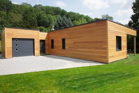 plain pied en ville petite surface 100m2 par myotte duquet habitat homify. Black Bedroom Furniture Sets. Home Design Ideas