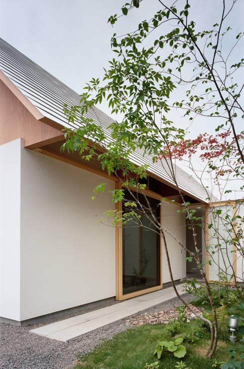 minimalistischer Garten von ma-style architects