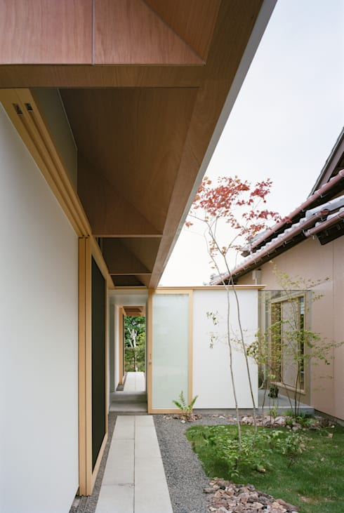 庭院 by ma-style architects