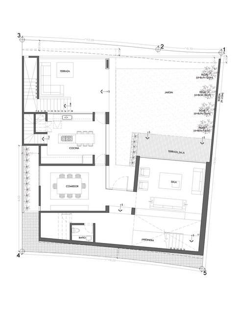 Casa DV:  de estilo  por ze|arquitectura