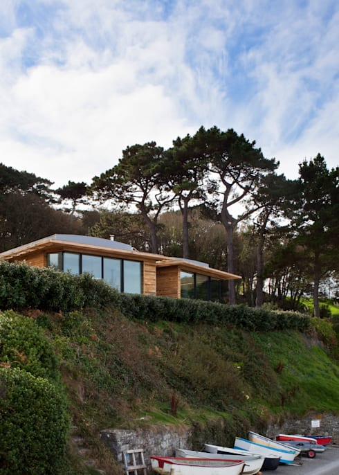 modern Houses by JAMIE FALLA ARCHITECTURE