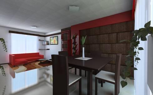 Proyecto de remodelacion y decoracion casa interes social for Remodelacion de casas pequenas interiores