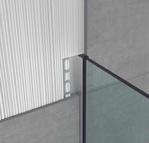 Glass profile i profili in acciaio inox per box doccia di - Profilo rivestimento bagno ...