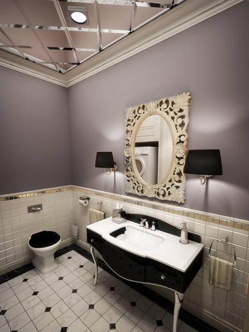 Baños de estilo  por studio forma