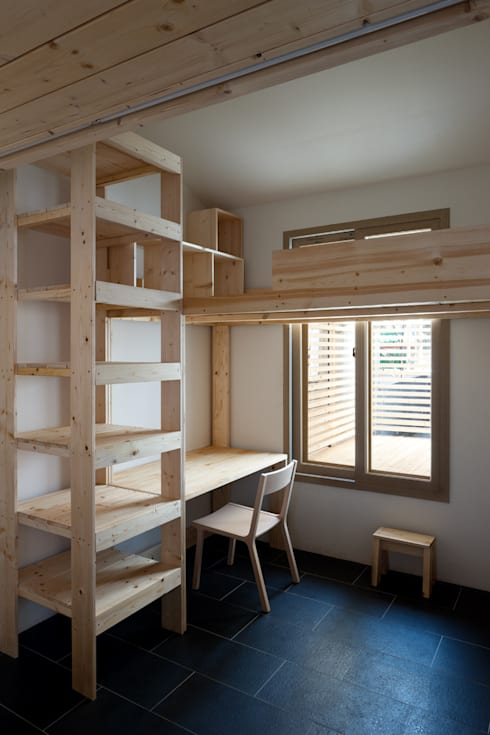 Habitaciones infantiles de estilo  por 무회건축연구소