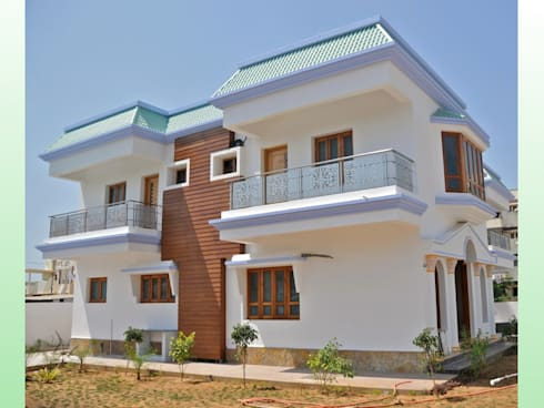 Residential Bungalow In Bhuj.:   by Design Kkarma