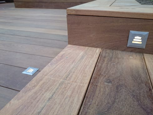 Decks: modern Garden by Paul Newman Landscapes