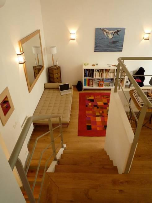 Loft sur jardin:  de style  par Catherine Plumet Interiors