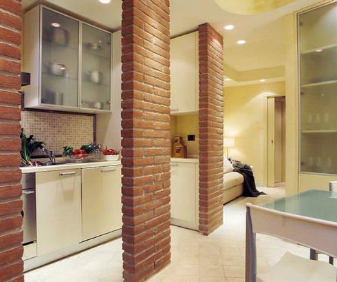 Mini appartamento 36mq di studio architettura e design for Miniappartamento design