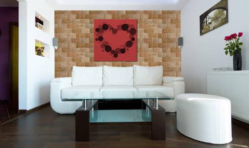 Ladrillo Tosco: Paredes de estilo  por PANESPOL, Surface Lovers