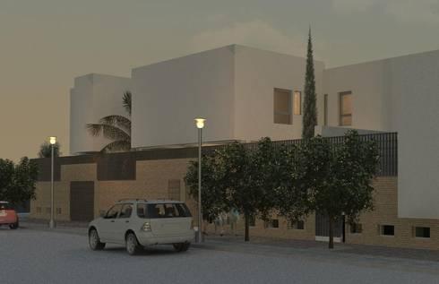 46 Viviendas Vegas del Genil: Hogar de estilo  de Argola Arquitectos