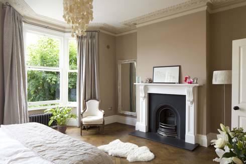 Huddleston Road: modern Bedroom by Sam Tisdall Architects LLP