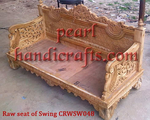 CRWSW048: asian Living room by Pearl Handicrafts