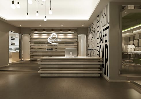 Reception Desk:  Commercial Spaces by  Ashleys
