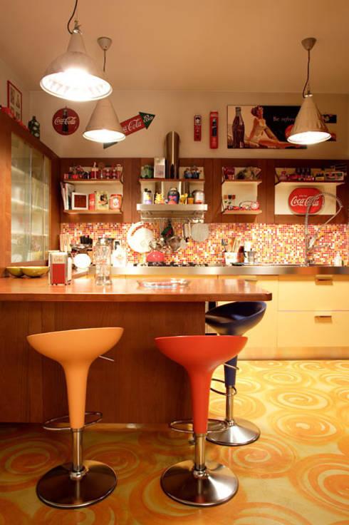 Cucina:  in stile  di Studio L'AB Landcsape Architecture & Building