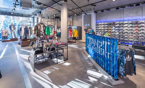 Ganter Interior Gmbh adidas store in berlin by ganter interior gmbh homify